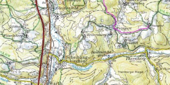 Thernberg mit Weg