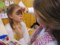 schminken - kann auch klein gedruckt werden oder halt normal groß